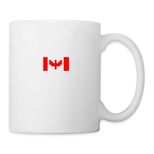 pixel canada flag - Mug