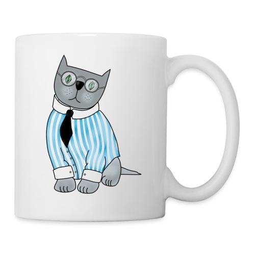Cat with glasses - Mug