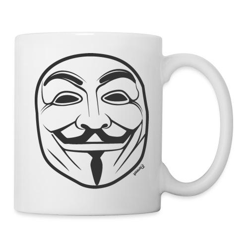 *NEW* Anonymous (H) - Mug blanc