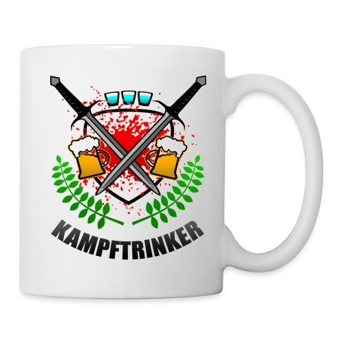 Kampftrinker Sauftour Team Bier Schnaps - Tasse