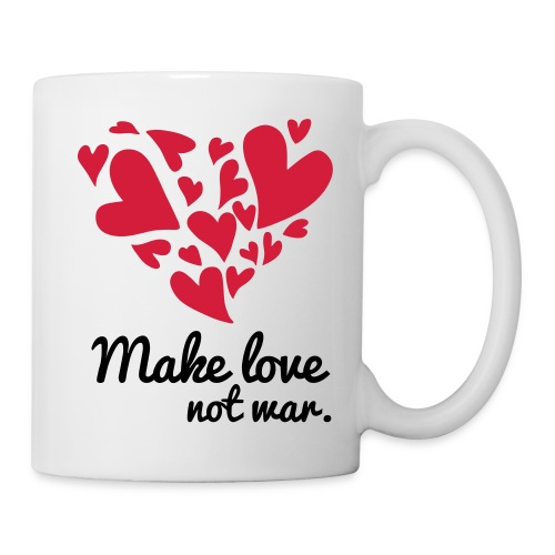 Make Love Not War T-Shirt - Mug