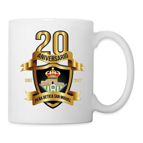 Camiseta Escudo 20 Aniversario - Taza