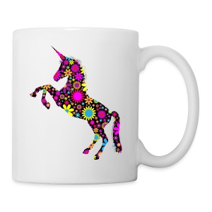 Unicorn-Floral - Tazza