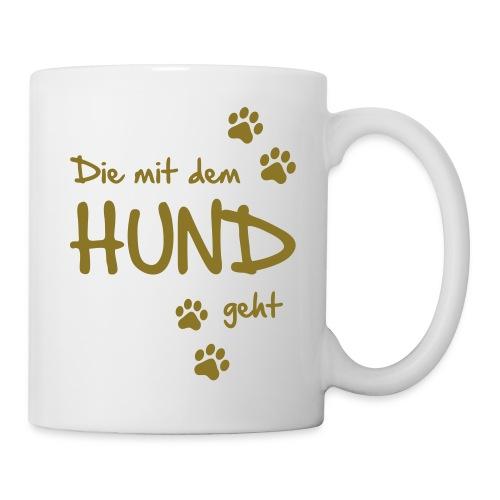 Vorschau: Die mit dem Hund geht - Tasse