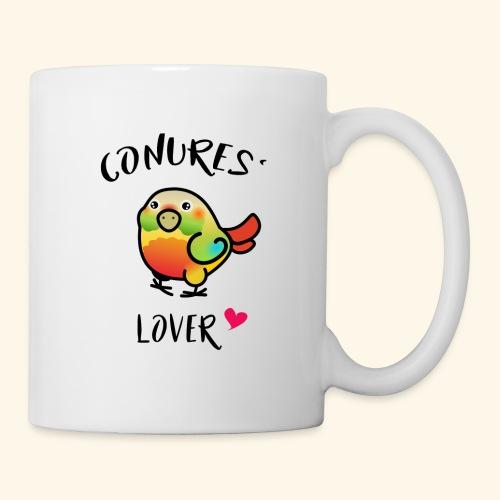 Conures' Lover: Ananas - Mug blanc