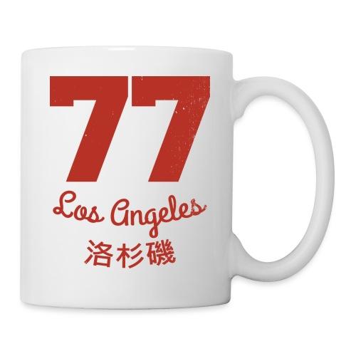 77 los angeles - Tasse