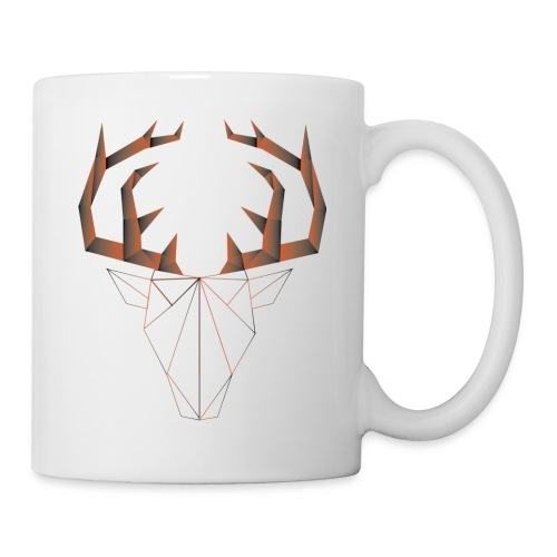 LOW ANIMALS POLY - Mug blanc
