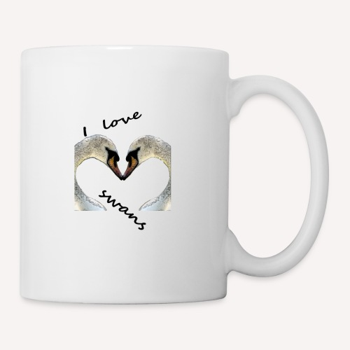 I love swans - Tasse