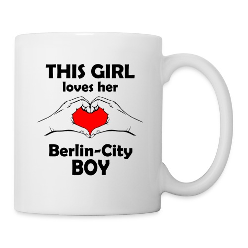 This girl loves her Berlin-City Boy - Tasse
