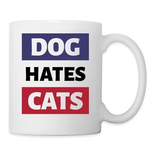 Dog Hates Cats - Tasse