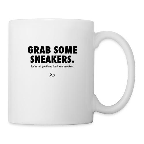 Grab some sneakers/ white/ Nice Komma Null - Tasse