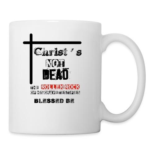 Christ's Not Dead - Mug blanc
