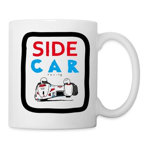 SIDE car racing - Mug blanc