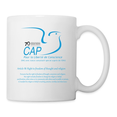 logoCAPLCart18eng - Mug blanc