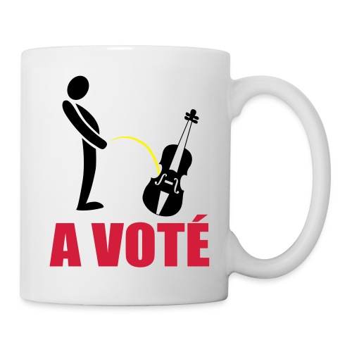 A voté - Mug blanc