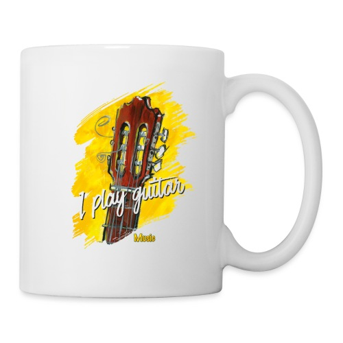 I play guitar - limited edition '19 - Tasse