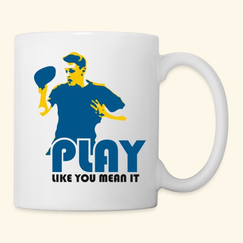 Play and Enjoy Table Tennis - Tasse