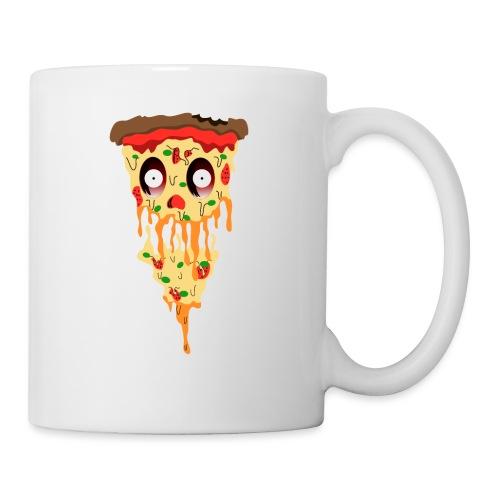 Schockierte Horror Pizza - Tasse