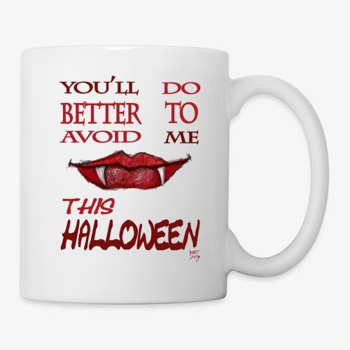 halloween women - Mug blanc