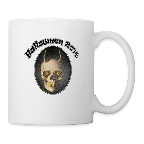 Halloween 2018 Horned Devil Skull - Mug