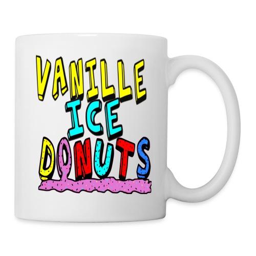 vanille eis donuts - Tasse