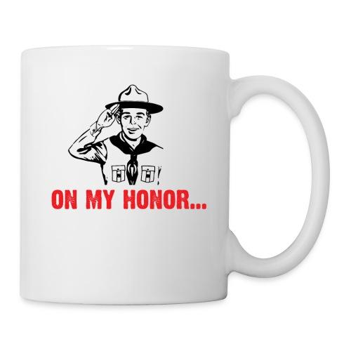 On my Honor... - Mug blanc