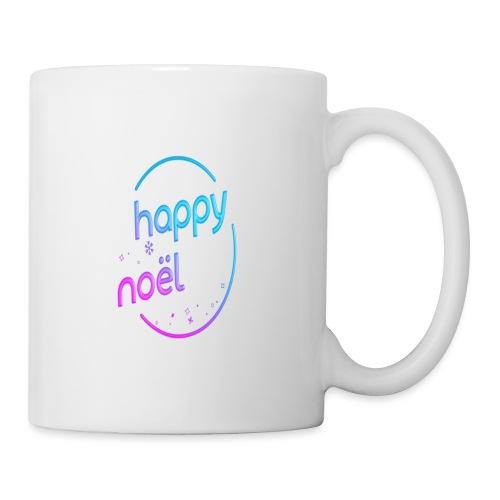 happy noel - Mug blanc
