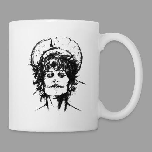 Ange Noir 2 - Mug blanc