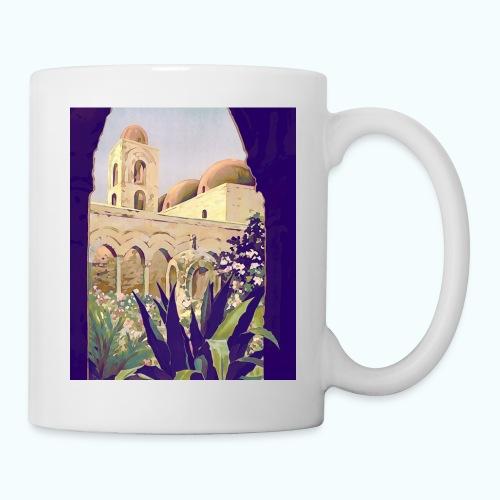 Palermo Vintage Travel Poster - Mug