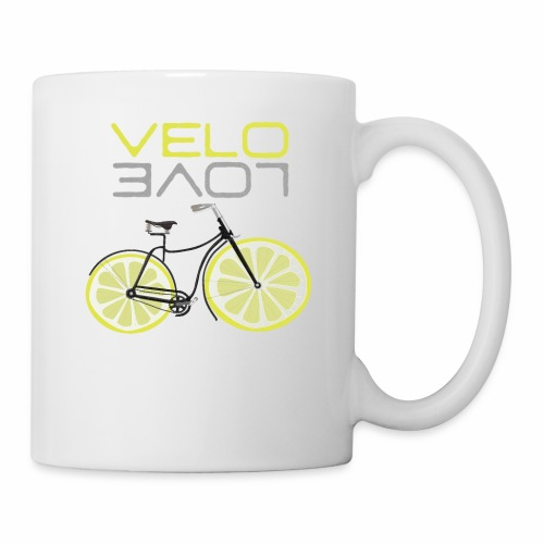 Lemon Bike Shirt Velo Love Shirt Radfahrer Shirt - Tasse