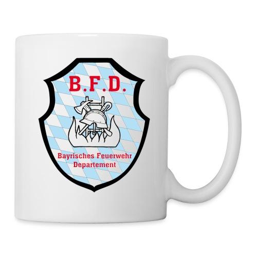 Inoffizielles bayrisches Feuerwehrabzeichen - Tasse