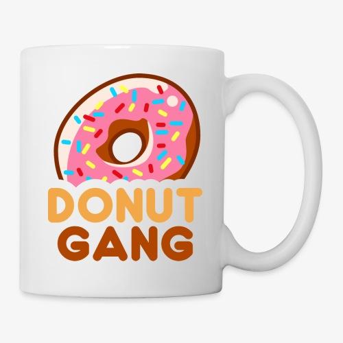 Donut Gang - Logo (med tekst) - Kop/krus