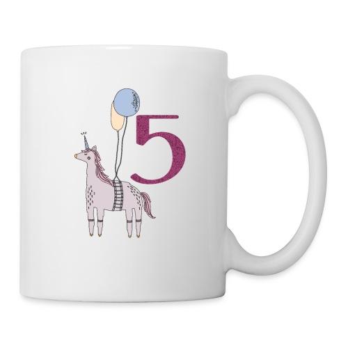 5 Jahre // Geburtstag T-Shirt zum 5. Geburtstag - Tasse