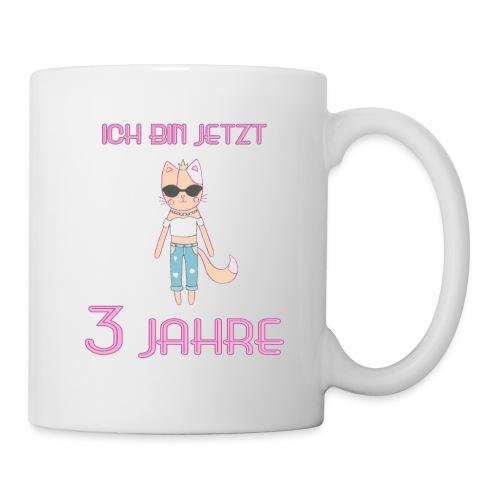 Ich bin jetzt 3 Jahre / Geschenk zum 3. Geburtstag - Tasse