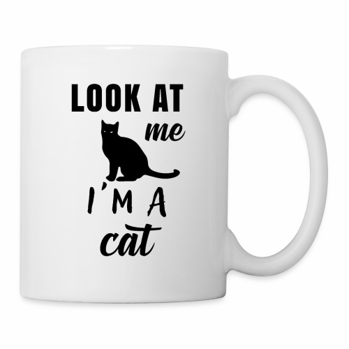 Koszulka look at me I'm a cat - Kubek