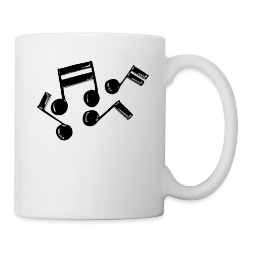 Musik Symbol Note Noten musiknoten spielen - Tasse
