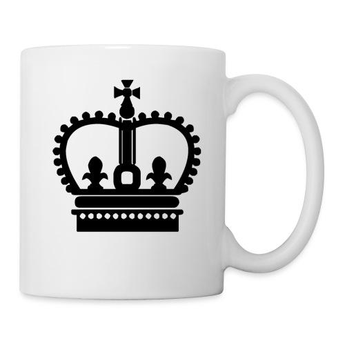 Krone Symbol König Kaiser Königin Mittelalter - Tasse
