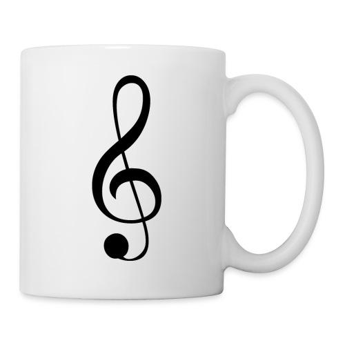 Musik Symbol Musikschlüssel Notenschlüssel - Tasse