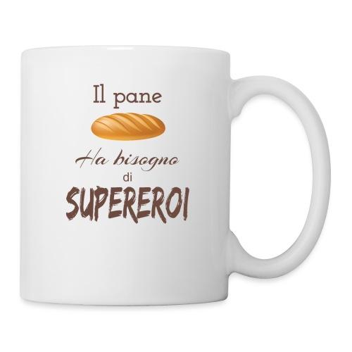 Pane Bisogno Supereroi - Tazza