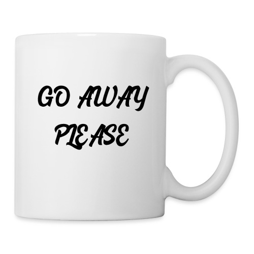 Go Away Please - Tasse