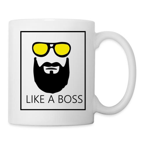 like a boss - Mug blanc
