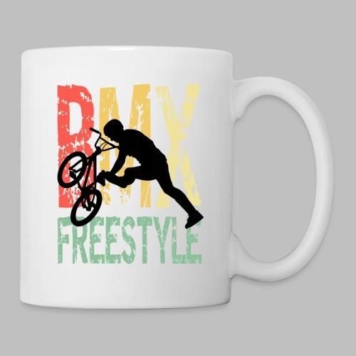 bmx freestyle retro geschenkidee - Tasse