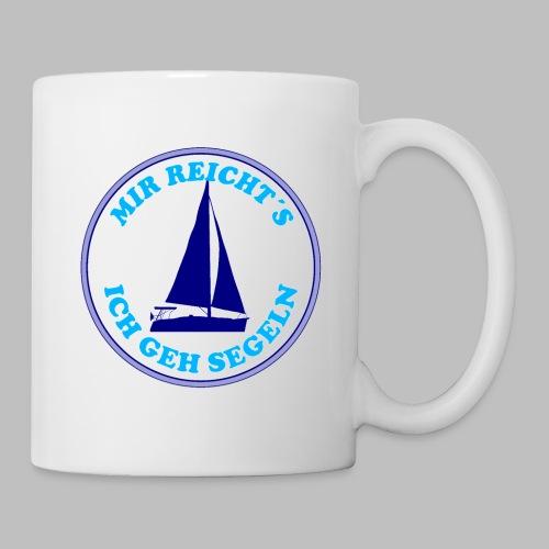 Segelboot Boote mir reichts ich geh segeln - Tasse