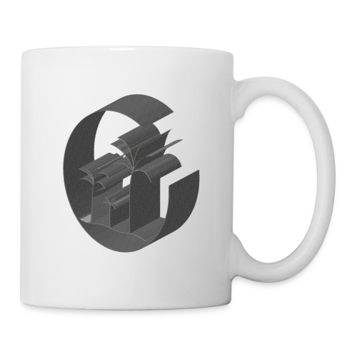 3D Miami Palm Trees Badge - Mug
