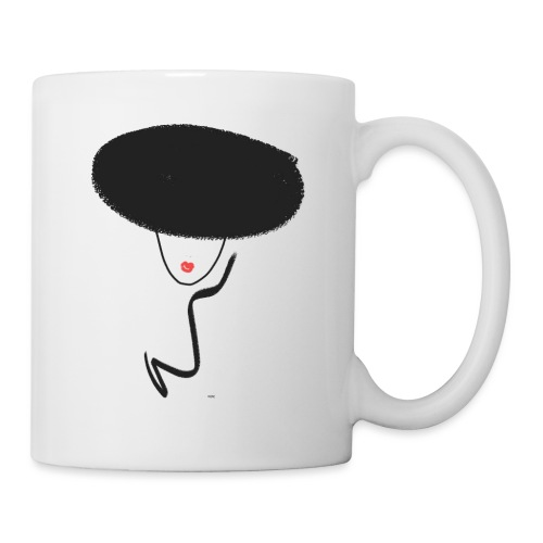 FACE WITH HAT - Tasse