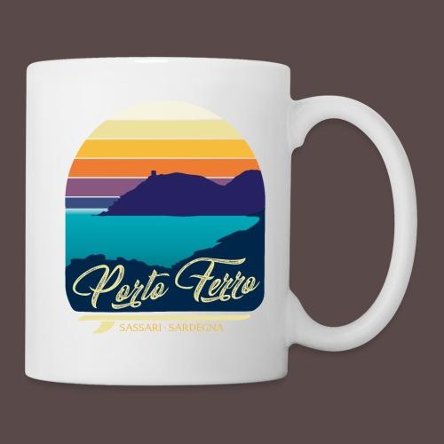 Porto Ferro - Vintage travel sunset - Tazza