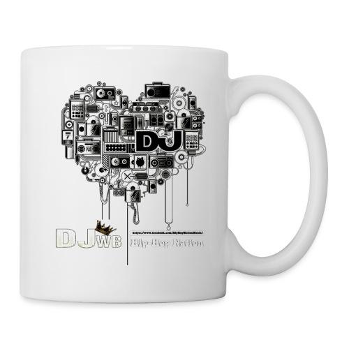 Design Music DJ WB Hip Hop Nation - Mug blanc