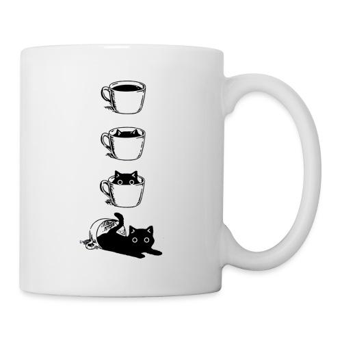 Süsse Katze in Kaffee Tasse - Tasse
