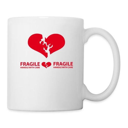 I am FRAGILE - Handle with care! - Mugg