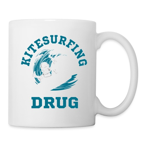 Kitesurfing is my drug - Tasse